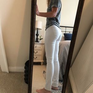 Calvin Klein Skinny Corduroy Jeans Ivory